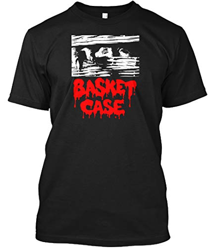 Basket T-shirt - Basket case L - Black Tshirt - Hanes Tagless Tee