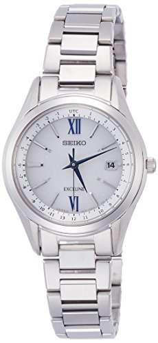 SEIKO watch EXCELINE Solar Radio SWCW115 Ladies(Japan Import-No Warranty)