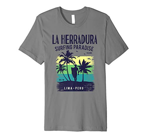 La Herradura Surfing Paradise Beach Lovers Shirts surf shirt mens 2019