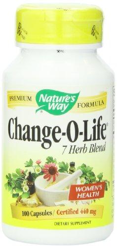 Путь Изменить-O-Life 7 Herb Смешать природы, 440 мг, 100 капсул