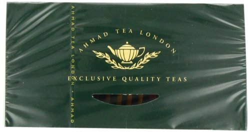 Ahmad Tea Fruit Tea Selection, 20-Count (Pack of 6) 6 Case of six boxes, each containing 20 foil-wrapped tea bags (120 total tea bags) Stimulating tea with a resonant, fruity aroma Enjoy the rare pleasure of a fine English tea