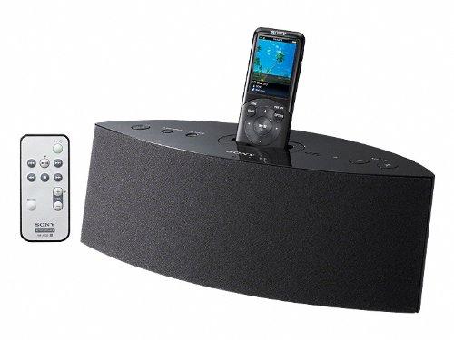 Sony Dock Speaker for Walkman | AC100-240V 50/60Hz | RDP-NWD300/B Black