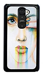 red pink sexy lip Hard Case for LG Optimus G2 D800/D801