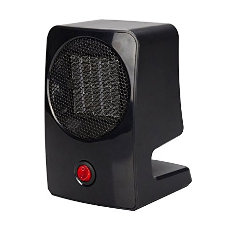 Geepin Personal Ceramic Fan Heater. (Black) | amzn_product_post Black Ceramic Ceramic Heaters Fan Heater Personal