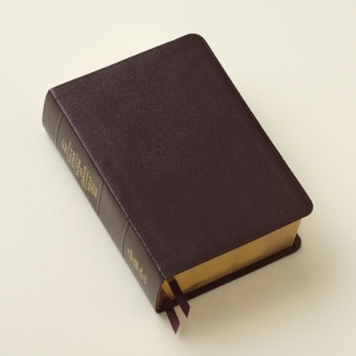 LDS Scriptures - Holy Bible, Book of Mormon, Doctrine and Covenants, Pearl of Great Price (Regular Quad) Burgundy Genuine Leather