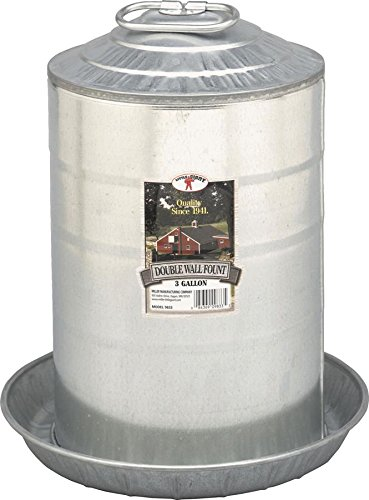 Little Giant3 Gallon Double Wall Fount 9833