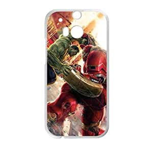 Avengers Age of Ultron HTC One M8 Cell Phone Case White 8You268896