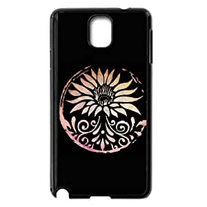 Lotus Samsung Galaxy Note 3 Cell Phone Case Black Zkwxs