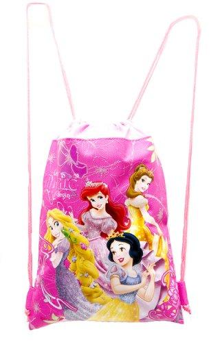 Hot Disney Princesses (Disney Princess Hot Pink Drawstring Bag)