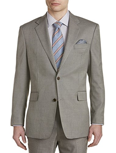 Tallia Big and Tall Orange Birdseye Suit Jacket ()
