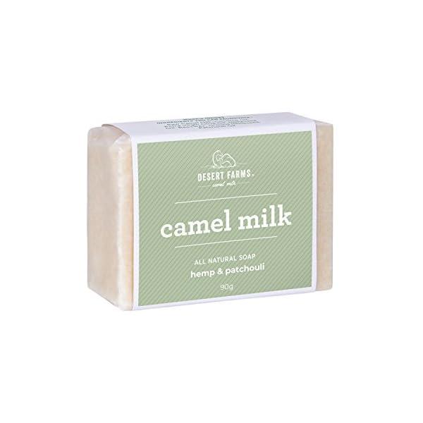 RAW Camel Milk Soap (Hemp & Patchouli)