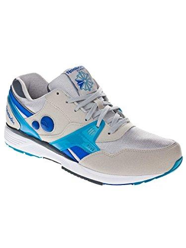 Reebok, Uomo, Pump Running Dual, Suede / Nylon, Sneakers, Grigio