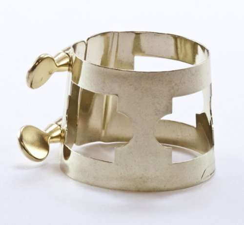 American Plating Gold Bari Sax Ligature