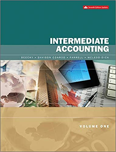 Intermediate Accounting, Volume 1 - Updated Edition, 7th Edition