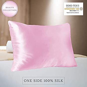 Amazon Com Yuns 25 Momme Mulberry Silk Pillowcase 100