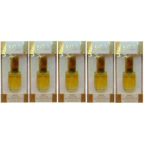 Aspen By Coty Perfume for Women 1.65 OZ / 48.5 ML Cologne Spray (5 x 9.7 - For Women Aspen