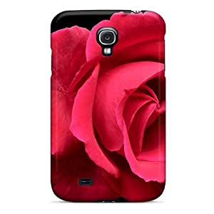 New Maria N Young Super Strong Red Rose Tpu Case Cover For Galaxy S4