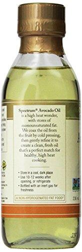 Spectrum Naturals Refined Avocado Oil, 8 oz by Spectrum (Image #3)