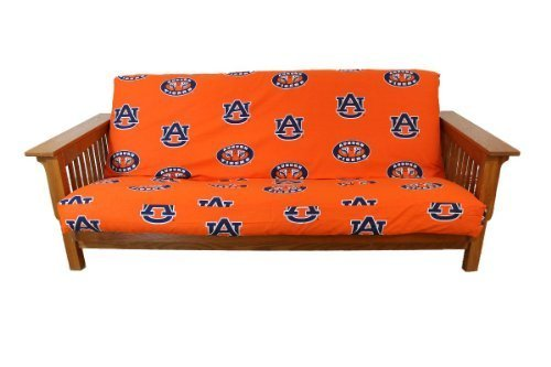 College Covers Auburn Tigers Futon Cover, Full (Cover Bright Futon)