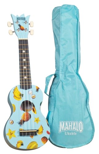 UPC 688382014640, Mahalo UK-30LB Ukulele Kit Light Blue