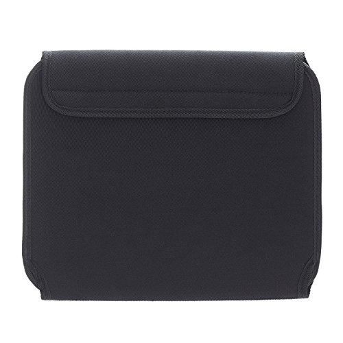 JOTO Electronics Organizer Case Bag, Travel Gear Management Organizer for Electronics Accessories Tools Cables Cosmetics Personal Care Kit with Sleeve Bag for Tablets iPad Laptops 10.1-Inch (Black)