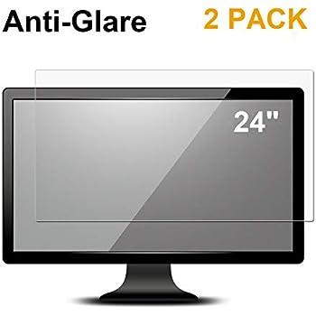 Amazon Com 2 Pack 24 Inch Anti Glare Matte Screen
