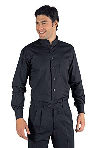 Camicia 65 Isacco Lunga Xs Nero Cotone Unisex Dublino Albicocca Poliestere 35 23402 Manica XpAdAqwvH