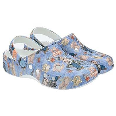 Woz Blue Clog Slipper For Unisex
