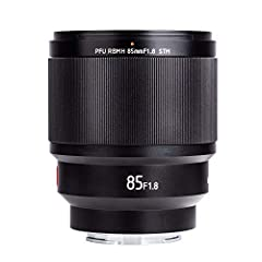 VILTROX PFU RBMH 85MM F1.8 STM prime lens is designed for Sony e-mount cameras, perfect for portrait photographyFeatures- 85mm focal length, f1.8 large aperture- internal focus/AF, electronic aperture- support full frame and Sony eye focus fu...