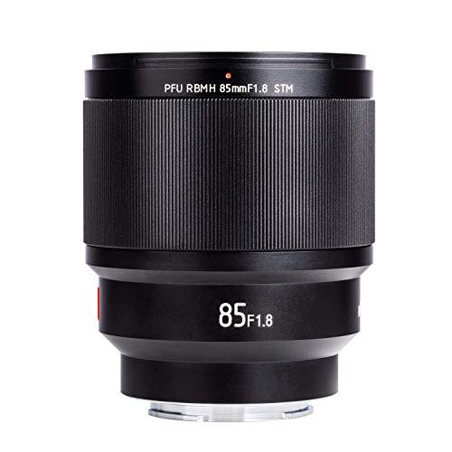 Standard Prime Lens VILTROX 85mm F1.8 STM Auto-Focus Full Frame Portrait Lens for Sony E-Mount Camera A7III A7RIII A7SII A7II A9 A7 A6500 A6400 A6300