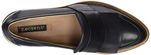 Neosens Women's S580 Restored Skin Ebony/Bouvier Closed Toe Heels Black (Ebony Ebony) pictures sale online buy cheap popular free shipping best store to get sale shop for fast delivery online 3jwscv
