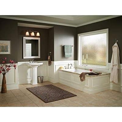 Delta T2797-LHP Cassidy 3-Hole Roman Bathtub Faucet Trim without Handles, Chrome