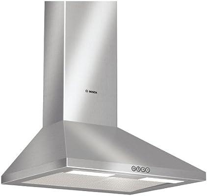 Bosch DWW062450 - Campana extractora de humos para pared, acero inoxidable (60 cm, 260 W), acero inoxidable: Amazon.es: Hogar