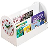 Tidy Books - Soporte para libros infantiles, color blanco