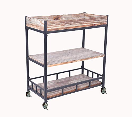 Diwhy Industrial 3 Tier Rolling Utility Storage Cart for sale  Delivered anywhere in USA