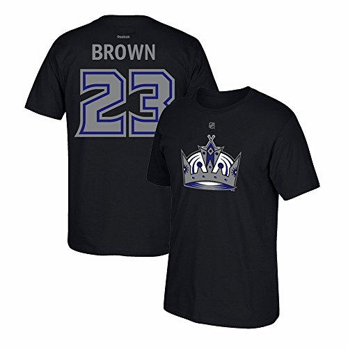 Reebok Los Angeles Kings Dustin Brown Name And Number T-Shirt Extra Large