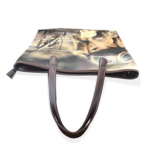 Coosun , Damen Tote-Tasche siehe abbildung L(33x45x13)cm