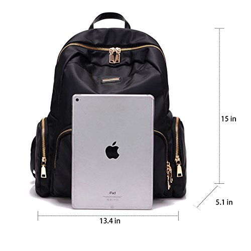 6379c4ac8aef Amazon.com  Fashion Nylon Waterproof Backpak Bag - Top Handle Tote Bag  Lightweight Durable Casual Bag for School