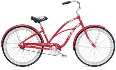 Electra Cruiser Hawaii 3i ladies 3 marchas Mujer bicicleta Cruiser, 2321, color rojo: Amazon.es: Deportes y aire libre