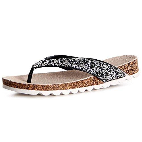 topschuhe24 - Sandalias de vestir de otros para mujer negro