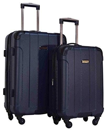 Kenneth Cole Reaction Central Park 2-Piece Expandable Luggage Spinner Set: 24'' and 20'' (Navy) by Kenneth Cole REACTION