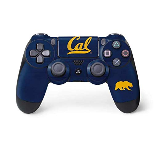 Skinit Cal Bears PS4 Controller Skin - Officially Licensed University of California Berkeley Playstation 4 Wrap - Thin, Durable 3M Vinyl Decal