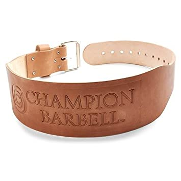Champion Barbell 4-Inch Tapered Belt