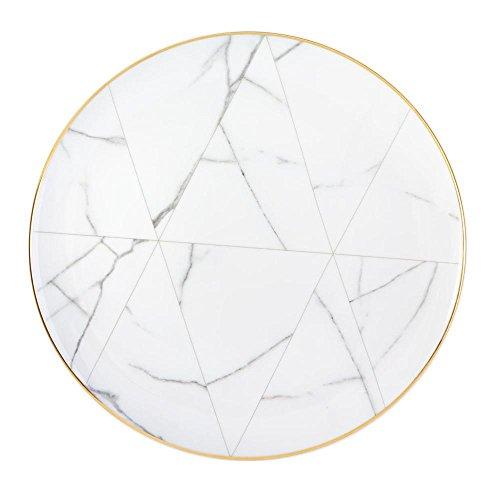 Vista Alegre Porcelain Carrara Dinner Plate - Set of 4