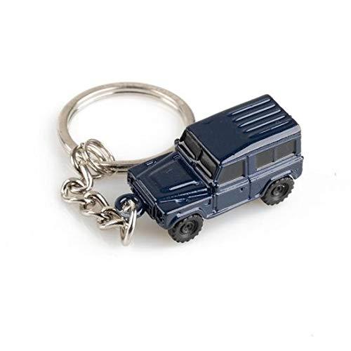 Land Rover Official Merchandise Defender Genuine 3D Metal Keyring