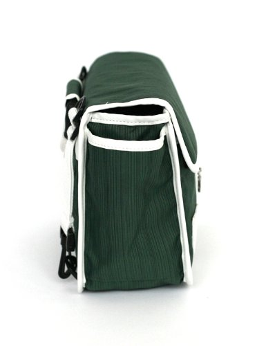 Green Shoulder Goodordering Bicycle Handlebar Cycling bag nqW8X4SW