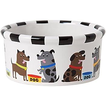 Signature Pets Housewares Pooch Dog Bowl, Medium