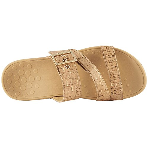 Rio Vionic Synthetic Sandals Cork Womens Gold Pacific wwqHB