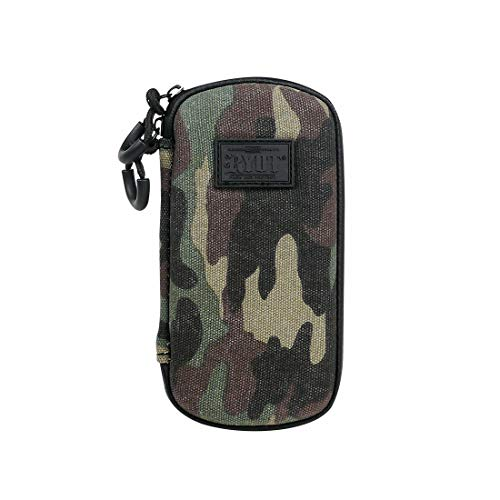 RYOT Slym Case Camo - Carbon Series with Smell Safe and Lockable Technology   Premium Quality   Fresh Pod   Easy Cleaning
