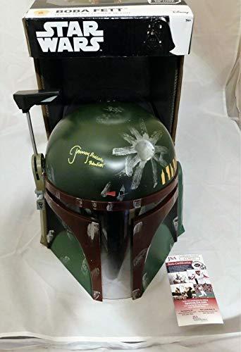 Jeremy Bulloch Signed/Autographed Boba Fett Full Size Helmet Star Wars JSA COA
